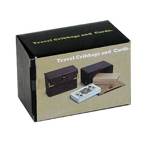 Cribbage Travel Game with Playing Cards Ages 9+