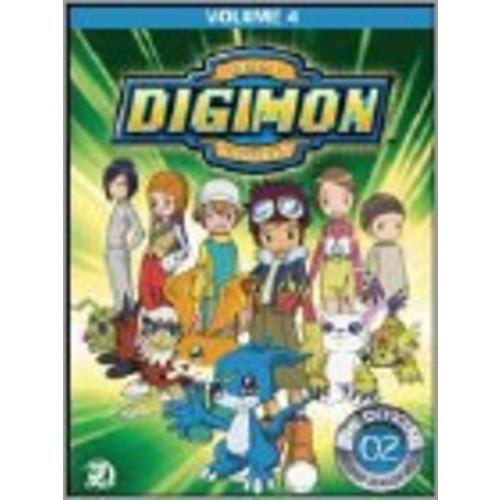 Digimon Adventure: 4 (3 Disc) - DVD