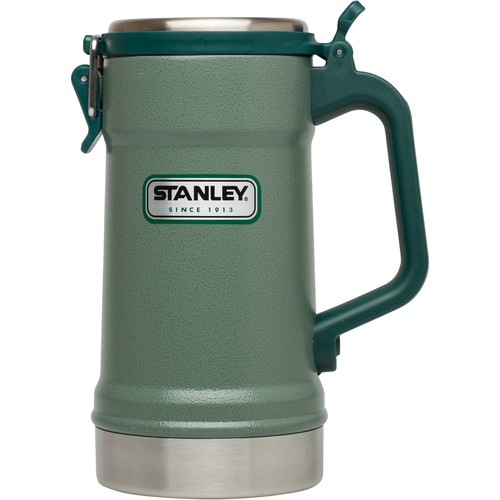 Classic Stainless-Steel Vacuum Stein with Latching Lid - 24 fl. oz.
