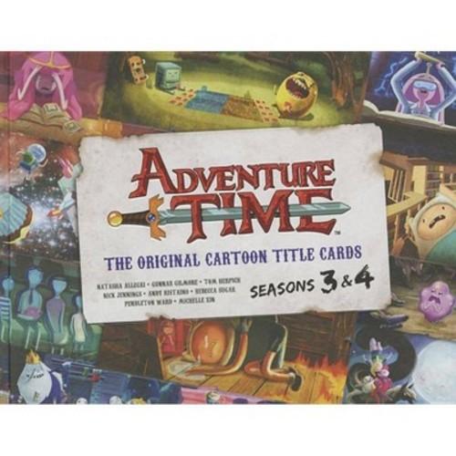 Adventure Time: The Original Cartoon Title Cards Seasons 3 & 4 (Hardcover)