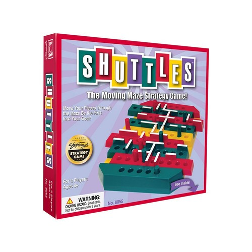 Shuttles The Moving Maze Strategy Game