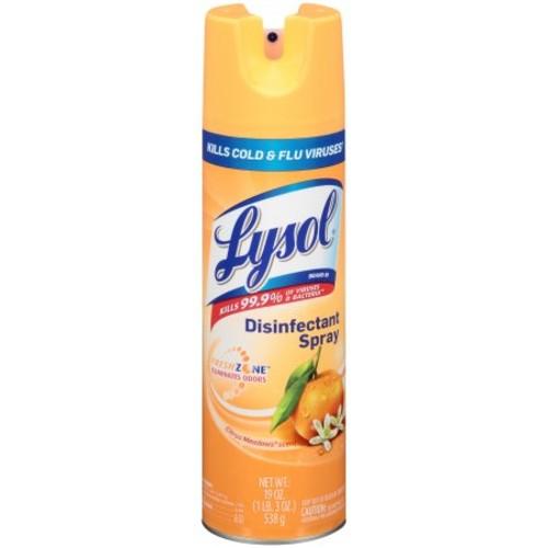 Lysol Disinfectant Spray, Citrus Meadows, 19oz [Citrus Meadows]