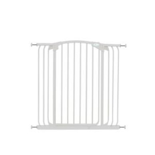 Dreambaby Chelsea 40 in. H Extra Tall and Extra Wide Auto-Close Security Gate in White