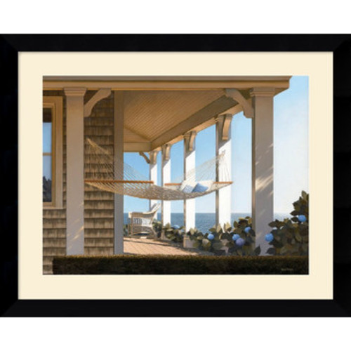 'Seaside Hammock' by Daniel Pollera Framed Photographic Print