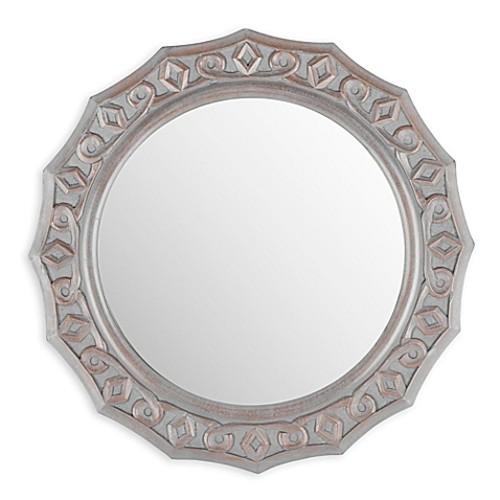 Safavieh Gossamer Lace Mirror in Grey