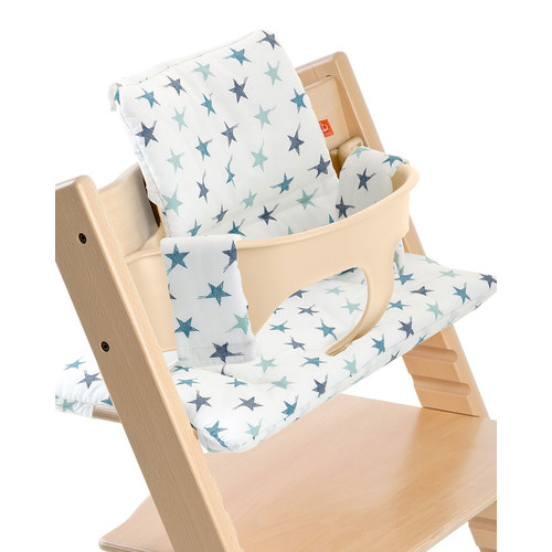 Tripp Trapp Seat Cushion, Aqua Star