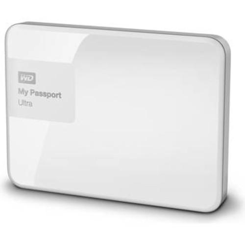2TB My Passport USB 3.0 Secure Portable Hard Drive (White)