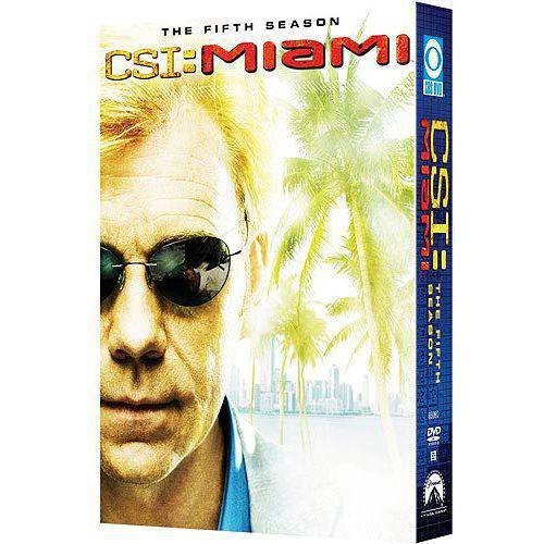 CSI: Miami - The Fifth Season [6 Discs] [Sensormatic] [DVD]