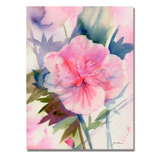 Trademark Fine Art 'Pink Hibiscus Bloom' 35