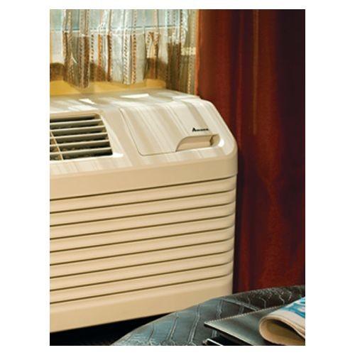 Amana 14,200 BTU R-410A Packaged Terminal Heat Pump Air Conditioner + 5.0 kW Electric Heat 230-Volt