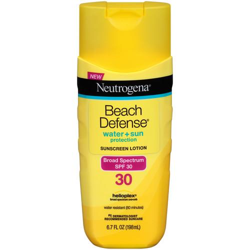 Neutrogena Beach Defense Sunscreen Lotion, SPF 30 , 6.7 fl oz