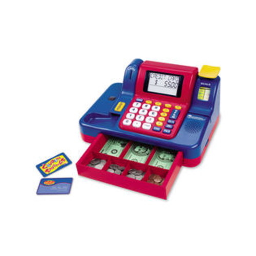 Learning Resources Pretend and Play Teaching Cash Register - LER2690