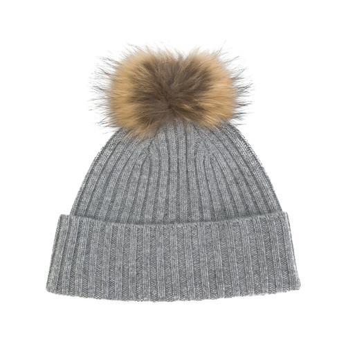 pompom beanie hat
