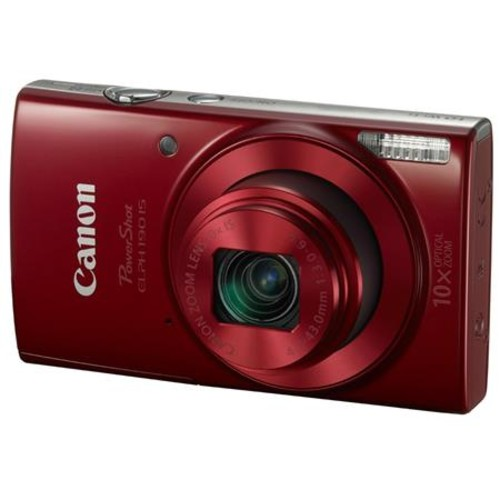 Canon PowerShot ELPH 190 Digital Camera and Free Accessories, Red 1087C001 A