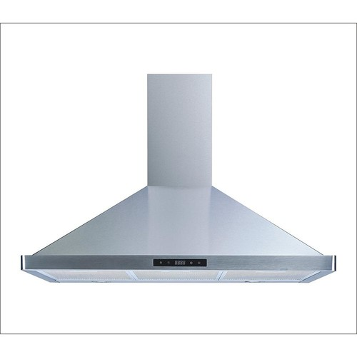 Winflo 36 in. Convertible Wall Mount Range Hood in Stainless Steel with Touch Control, LED Lights and Aluminum Filters