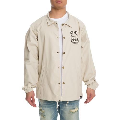 The Trademark Coach Jacket in Khaki