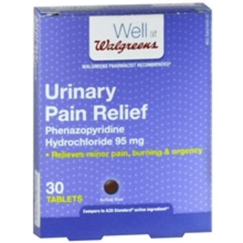 Walgreens Urinary Pain Relief Tablets