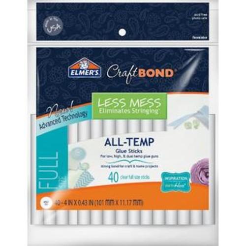Elmer'S CraftbondR Less Mess AllTemp Glue Sticks7/16x4 40/Pkg