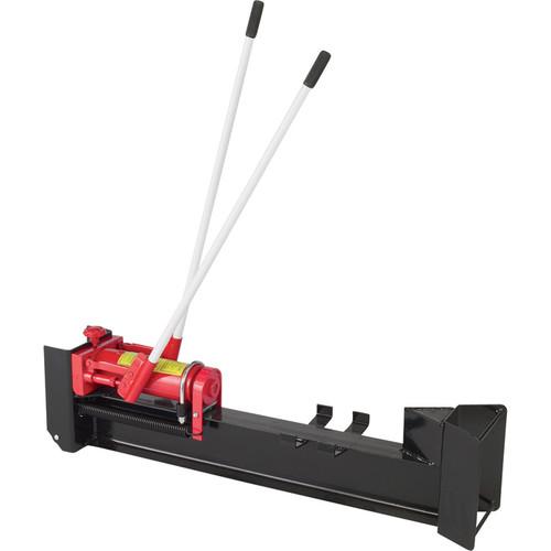 Ironton Horizontal Manual Hydraulic Log Splitter  10-Ton