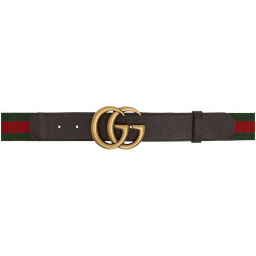 Green & Red Web GG Belt