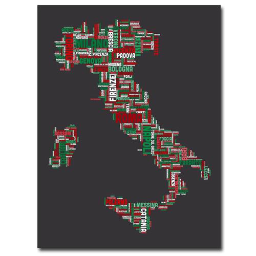 Trademark Global Michael Tompsett 'Italy IV' Canvas Art [Overall Dimensions : 18x24]