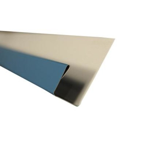 Metal Sales J-Channel Flashing in Ocean Blue