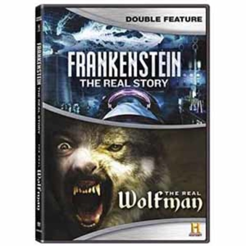 Frankenstein: Real Story / The Real Wolfman [DVD]