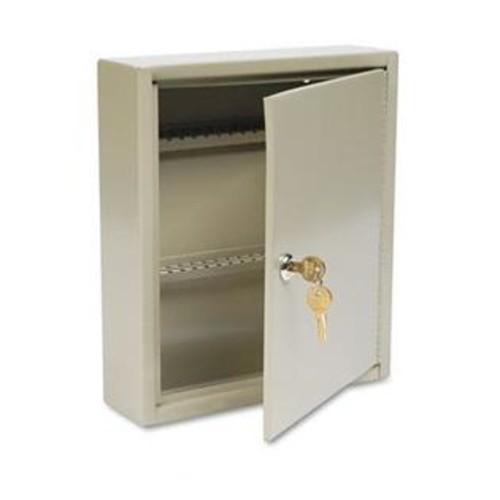 MMF STEELMASTER UniTag Key Cabinet, 60Key, Steel, Sand, 10 5/8 X 3 X 12 1/8