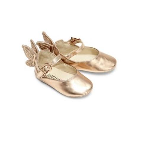 Baby's Mini Chiara Wing Leather Flats