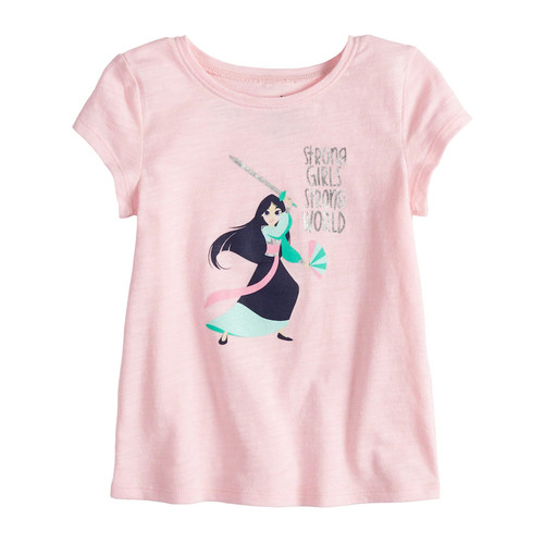 Disney's Mulan Toddler Girl Foiled Graphic Tee by Jumping Beans