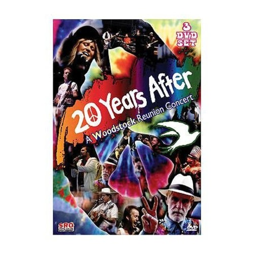 20 Years After: A Woodstock Reunion Concert, 3-Disc DVD Set