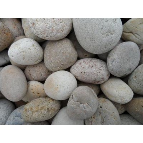 Butler Arts 0.25 cu. ft. 1/2 in. x 1 in. Unpolished Brown Mexican Beach Pebble