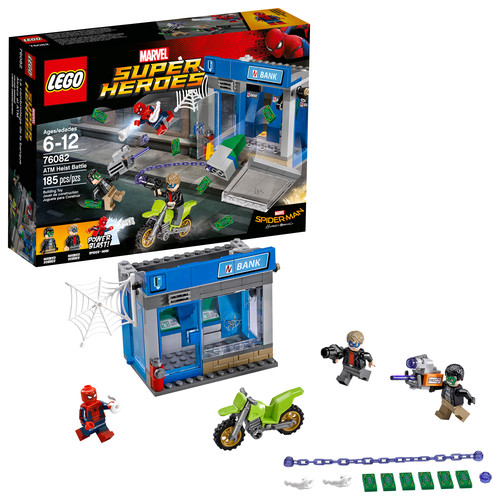 LEGO Super Heroes ATM Heist Battle 76082