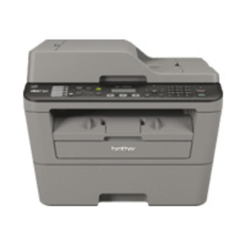 Brother MFC-L2700DW Laser Multifunction Printer - Monochrome - Plain Paper Print - Desktop - Copier/Fax/Printer/Scanner - 2...