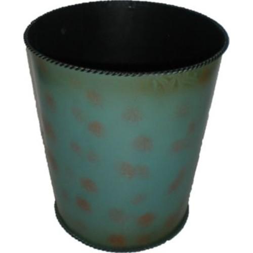 HiEnd Accents Metal Waste Basket
