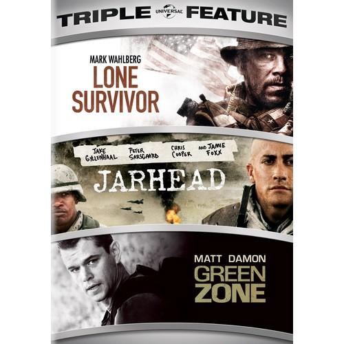 Lone Survivor/Jarhead/Green Zone [2 Discs] [DVD]