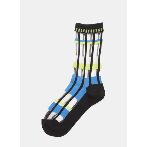 Sheer Flow Socks in Black