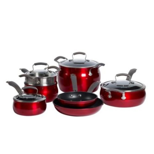 Epicurious Aluminum Nonstick 11-Piece Cookware Set
