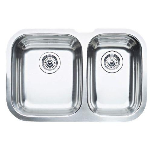 Blanco Niagara Undermount Stainless Steel 28 in. 1-1/2 Bowl Kitchen Sink