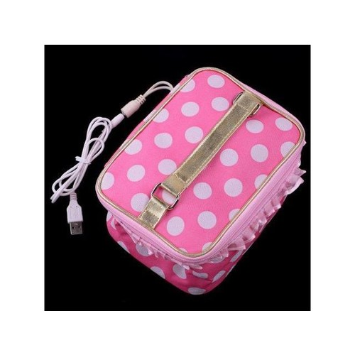 USB Lunchbox Bento Box Warmer Heater Bag