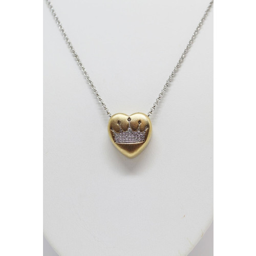 Diamond Crown Necklace