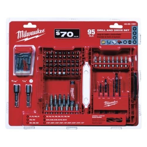 Milwaukee 95PC Drill Drive Set (48-89-1561)