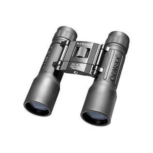 Barska - Binoculars AB10670 20x32 Lucid View- Black- Compact- Blue Lens