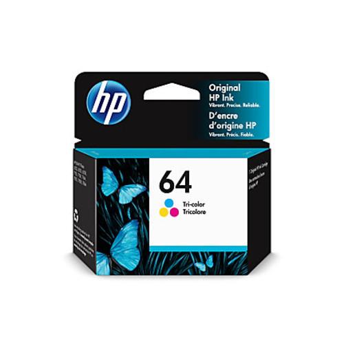 HP 64 Tri-Color Original Ink Cartridge (N9J89AN)