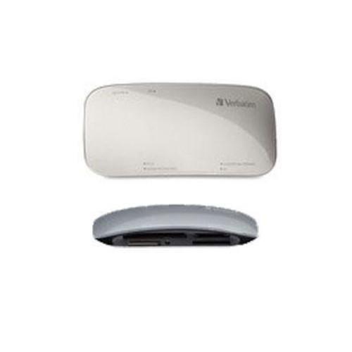VER97706 - Verbatim Universal Card Reader, USB 3.0 - Silver: Computers & Accessories