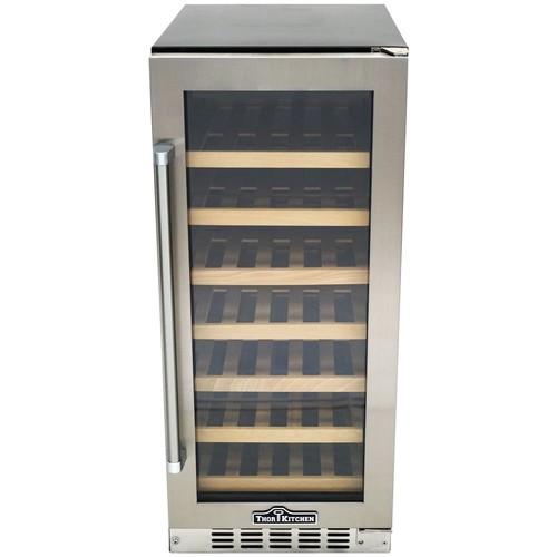 Thor Kitchen 33-Bottle Single Zone Built-in/Freestanding Wine Cooler