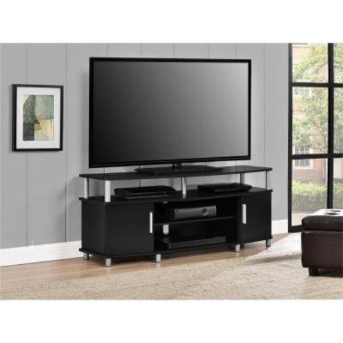 Carson Black Storage Entertainment Center