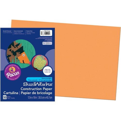 SunWorks Groundwood Construction Paper, 12