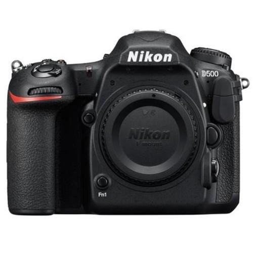 Nikon D500 DSLR Body With Tascam DR-10SG Camera-Mountable Audio Recorder W/Mic