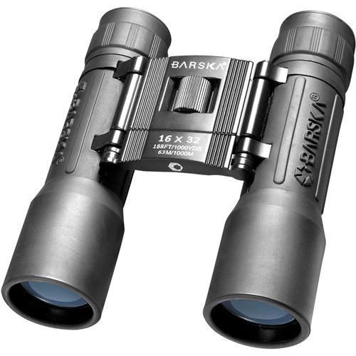 Barska Lucid View 16x32 Binoculars  Black